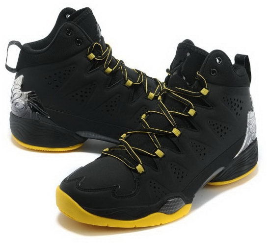 Air Jordan Melo M10 Black Yellow Greece